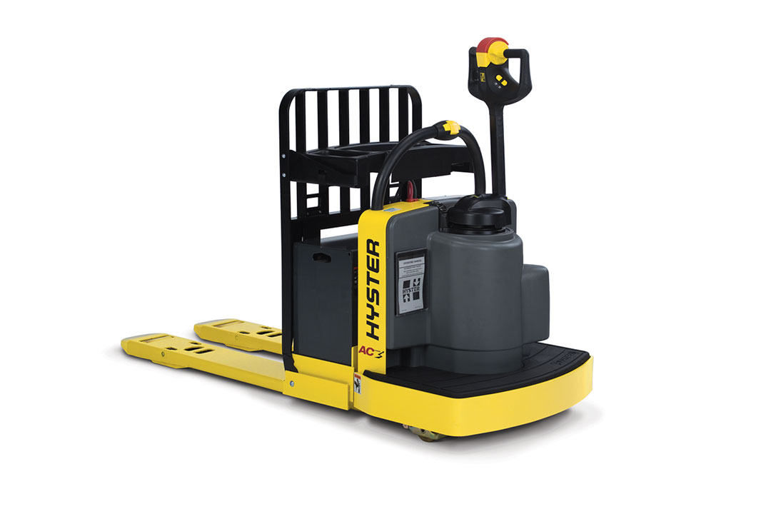 New b60zac hyster forklifts mh equipment for Motorized pallet jack rental