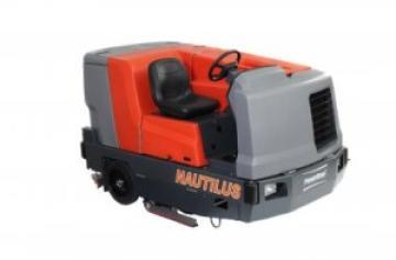 Combination Sweeper-Scrubbers