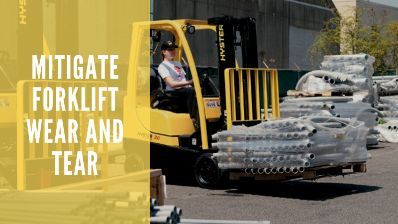 Mitigate Forklift Wear and Tear: 5 Parts to Regularly Inspect