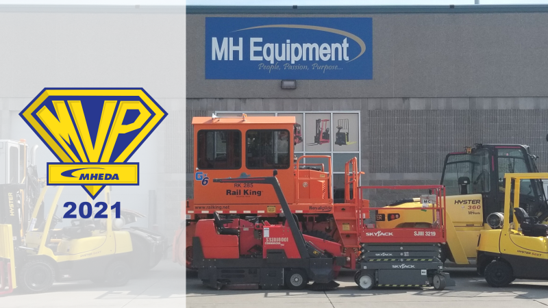 MH Equipment Receives Industry Performance Award for 6th Consecutive Year