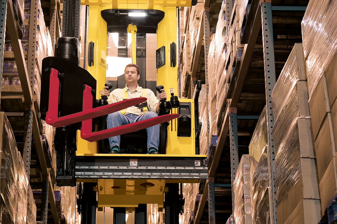 Make the Most of Limited Space with Narrow Aisle Forklifts