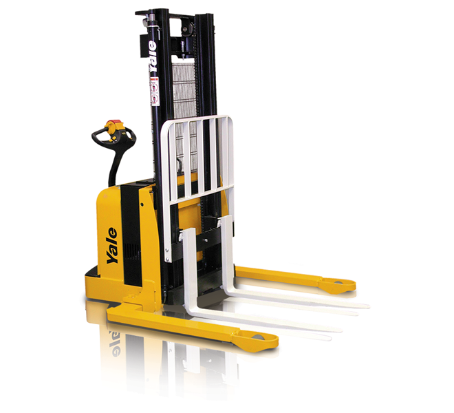 New msw025f 30f msw040e yale forklifts mh equipment for Motorized hand truck rental