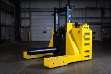 Stand Up Rider Coil Handler